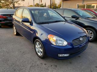 Used 2010 Hyundai Accent GLS*LOW KMS*SUNROOF*HEATED SEATS* for sale in Hamilton, ON