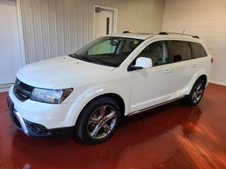 Used 2017 Dodge Journey Crossroad AWD & Pass for sale in Pembroke, ON