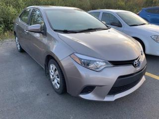 Used 2014 Toyota Corolla LE for sale in Gander, NL