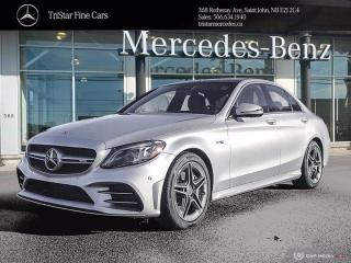 New 2020 Mercedes-Benz C-Class AMG C 43 for sale in Saint John, NB