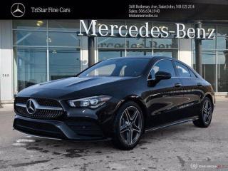 New 2020 Mercedes-Benz CLA-Class CLA 250 for sale in Saint John, NB