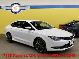 Used 2015 Chrysler 200 S Navigation, Heated Steering Wheel for sale in Vaughan, ON