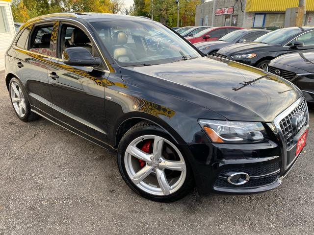 2012 Audi Q5 S-Line / NAVI/ CAM/ PANO ROOF/ ALLOYS/ TINTED ++