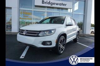 Used 2017 Volkswagen Tiguan Highline for sale in Hebbville, NS