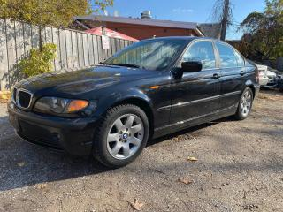 Used 2002 BMW 3 Series 325i/Automatic/Leather/Roof/AS IS Special for sale in Scarborough, ON