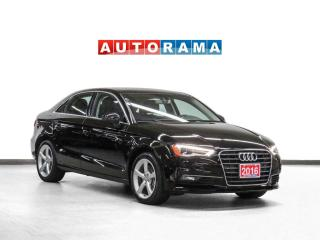 Used 2016 Audi A3 Komfort Leather Sunroof for sale in Toronto, ON