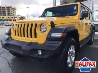 Used 2019 Jeep Wrangler UNLIMITED SPORT for sale in Halifax, NS