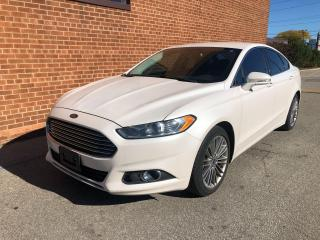 Used 2013 Ford Fusion SE/NO ACCIDENTS/NAVI/CAMERA/BLUETOOTH/LEATHER for sale in Oakville, ON