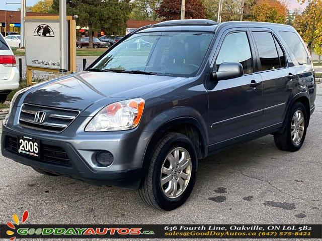 2006 Honda CR-V EX-L|LOW KM|NO ACCIDENT|SUNROOF|4WD|BT|CERTIFIED