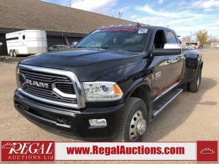 Used 2018 RAM 3500 Laramie Limited Crew CAB DRW LWB 4WD 6.7L for sale in Calgary, AB
