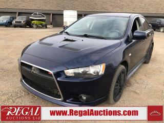Used 2013 Mitsubishi Lancer Ralliart 4D Sedan AWD 2.0L for sale in Calgary, AB