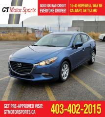 Used 2018 Mazda MAZDA3 GX | $0 DOWN - EVERYONE APPROVED! for sale in Calgary, AB