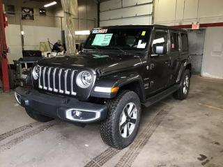 New 2021 Jeep Wrangler Sahara for sale in Halifax, NS