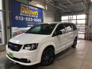 Used 2017 Dodge Grand Caravan SXT Blacktop w/ Rear DVD & Backup Cam for sale in Nepean, ON