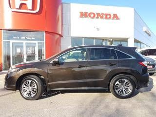 Used 2017 Acura RDX Elite Pkg  No Accidents, heated for sale in Winnipeg, MB