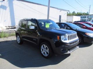 Used 2017 Jeep Renegade Limited for sale in Halifax, NS