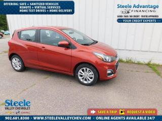 New 2021 Chevrolet Spark 1LT for sale in Kentville, NS