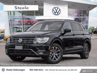 New 2020 Volkswagen Tiguan COMFORTLINE for sale in Dartmouth, NS