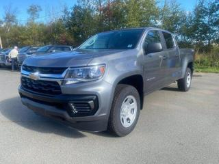New 2021 Chevrolet Colorado 4WD Work Truck for sale in Amherst, NS