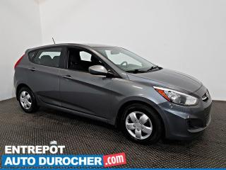 Used 2016 Hyundai Accent LE Automatique - AIE CLIMATISÉ - ÉCONOMIQUE for sale in Laval, QC