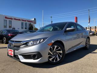 Used 2018 Honda Civic Sedan EX  - Sunroof - Lane watch - Rear Camera for sale in Mississauga, ON