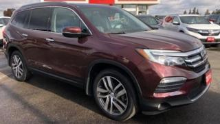 Used 2018 Honda Pilot Touring|Certified|Warranty-Just Arrived| for sale in Brandon, MB