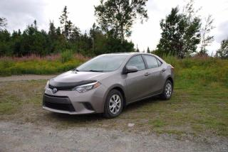 Used 2015 Toyota Corolla LE ECO for sale in Gander, NL
