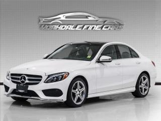 Used 2017 Mercedes-Benz C-Class C300 4MATIC Navigation, 360 Camera, Panoramic, Clean for sale in Concord, ON