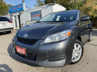Used 2013 Toyota Matrix 4dr Wgn FWD ACCIDENT ONE OWNER ! for sale in Brampton, ON