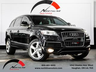 Used 2012 Audi Q7 3.0 TDI Premium Plus|S-Line|7 Passenger|Navigation|Pano Roof for sale in Vaughan, ON