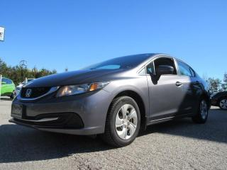 Used 2014 Honda Civic Sedan LX/ ACCIDENT FREE for sale in Newmarket, ON
