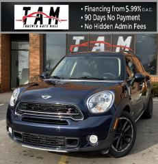 Used 2015 MINI Cooper Countryman S ALL4 Sunroof Leather Keyless Entry AWD 6-Speed Manual Warranty for sale in North York, ON