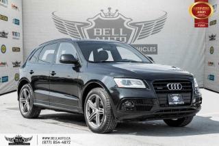 Used 2016 Audi Q5 2.0T Progressiv +, S-LINE, AWD, NO ACCIDENTS, NAVI, SENSORS, PARK ASST for sale in Toronto, ON