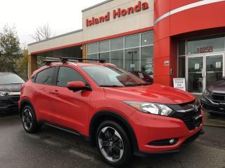 Used 2018 Honda HR-V EX-L NAVI for sale in Courtenay, BC