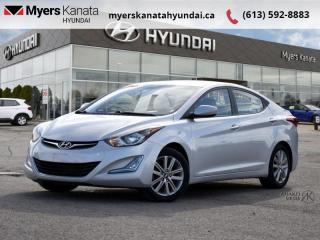 Used 2014 Hyundai Elantra GLS  - $86 B/W - Low Mileage for sale in Kanata, ON
