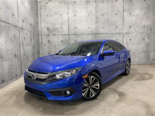 Used 2017 Honda Civic EX-T turbo toit ouvrant CARPLAY * CAMERA * SIEGES CHAUFFANT for sale in St-Nicolas, QC