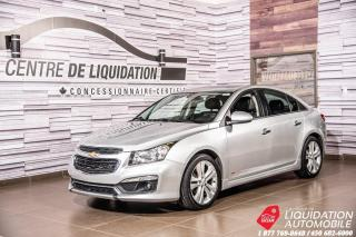 Used 2016 Chevrolet Cruze LT+TOIT+CUIR+CAM RECUL+BLUETOOTH for sale in Laval, QC