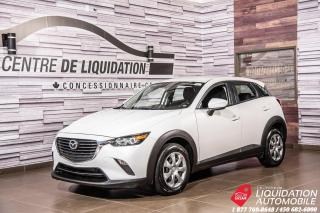 Used 2017 Mazda CX-3 GX+GR/ELECT+CAM/RECUL+BLUETOOTH for sale in Laval, QC