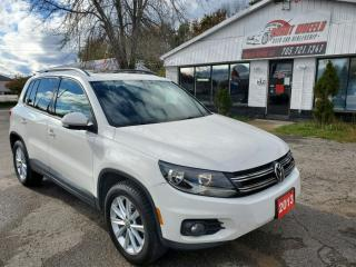 Used 2013 Volkswagen Tiguan Highline for sale in Barrie, ON