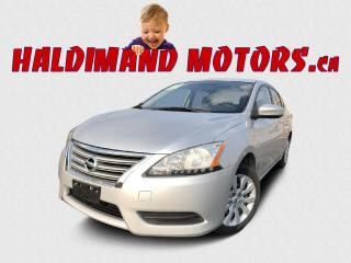 Used 2014 Nissan Sentra S 2WD for sale in Cayuga, ON