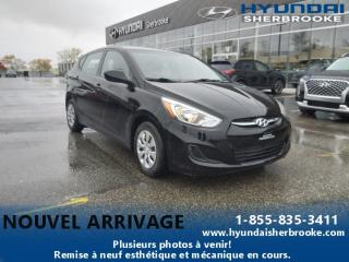 Used 2016 Hyundai Accent GL+A/C+BANCS CHAUFF+BLUETOOTH+CRUISE for sale in Sherbrooke, QC