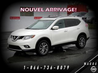 Used 2015 Nissan Rogue SL AWD + PREMIUM + TOIT + BOSE + NAVI! for sale in Magog, QC