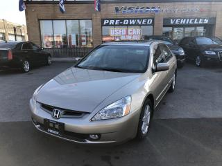 Used 2004 Honda Accord 4dr Sdn EX V6 Auto-ONE OWNER-CLEAN CARFAX for sale in North York, ON