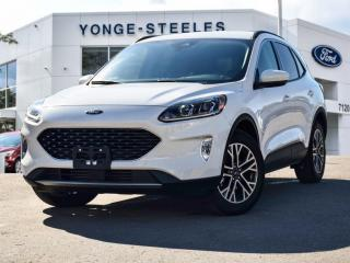Used 2020 Ford Escape SEL for sale in Thornhill, ON