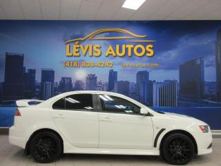 Used 2012 Mitsubishi Lancer RALLIART AWD AIR CLIMATISE BANC CHAUFFAN for sale in Lévis, QC