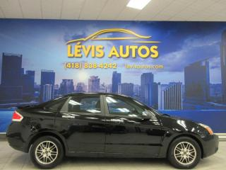 Used 2010 Ford Focus SE AUTOMATIQUE AIR CLIMATISE BLUETOOTH T for sale in Lévis, QC
