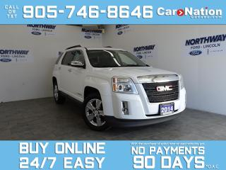 Used 2014 GMC Terrain SLE-2 | SUNROOF | NAV | CHROME RIMS for sale in Brantford, ON