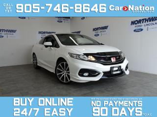 Used 2014 Honda Civic COUPE SI | 6 SPEED MANUAL | SUNROOF | NAV | REAR CAM for sale in Brantford, ON
