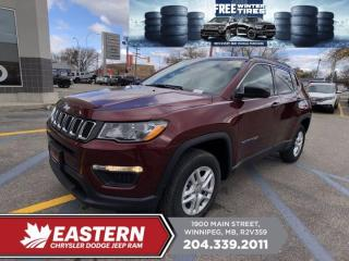 New 2021 Jeep Compass Sport | Backup Cam | Htd. Seats & Steering Wheel | for sale in Winnipeg, MB