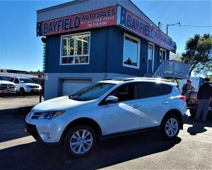 Used 2015 Toyota RAV4 Limited AWD **Leather/Sunroof/Navigation** for sale in Barrie, ON